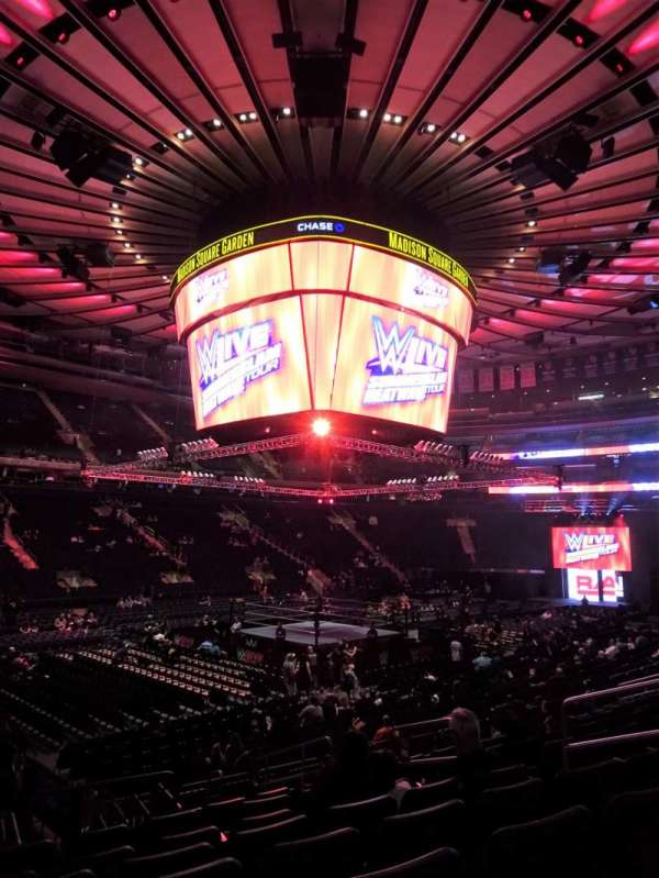 Madison Square Garden, section: 105, row: 11, seat: 9-10