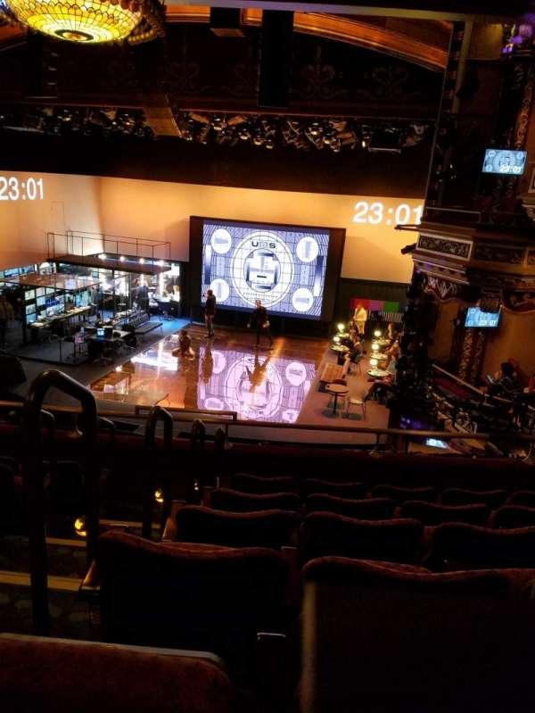 Belasco Theatre, section: Mezzanine R, row: F, seat: 2-4