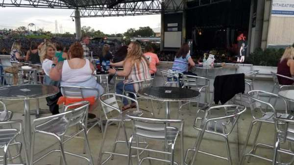 MidFlorida Credit Union Amphitheatre, section: Party deck