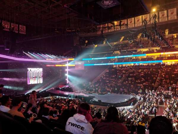 Prudential Center, section: 20, row: 19, seat: 3