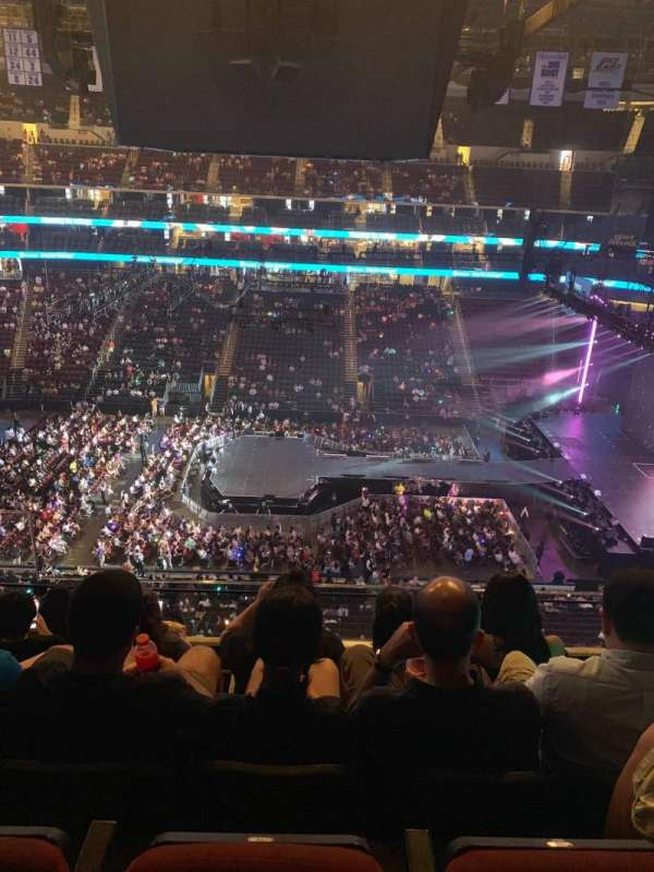 Prudential Center, section: 112, row: 5, seat: 16