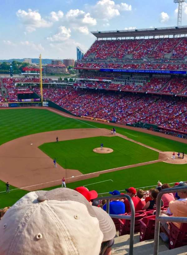 Great American Ball Park, section: 415, row: L, seat: 2
