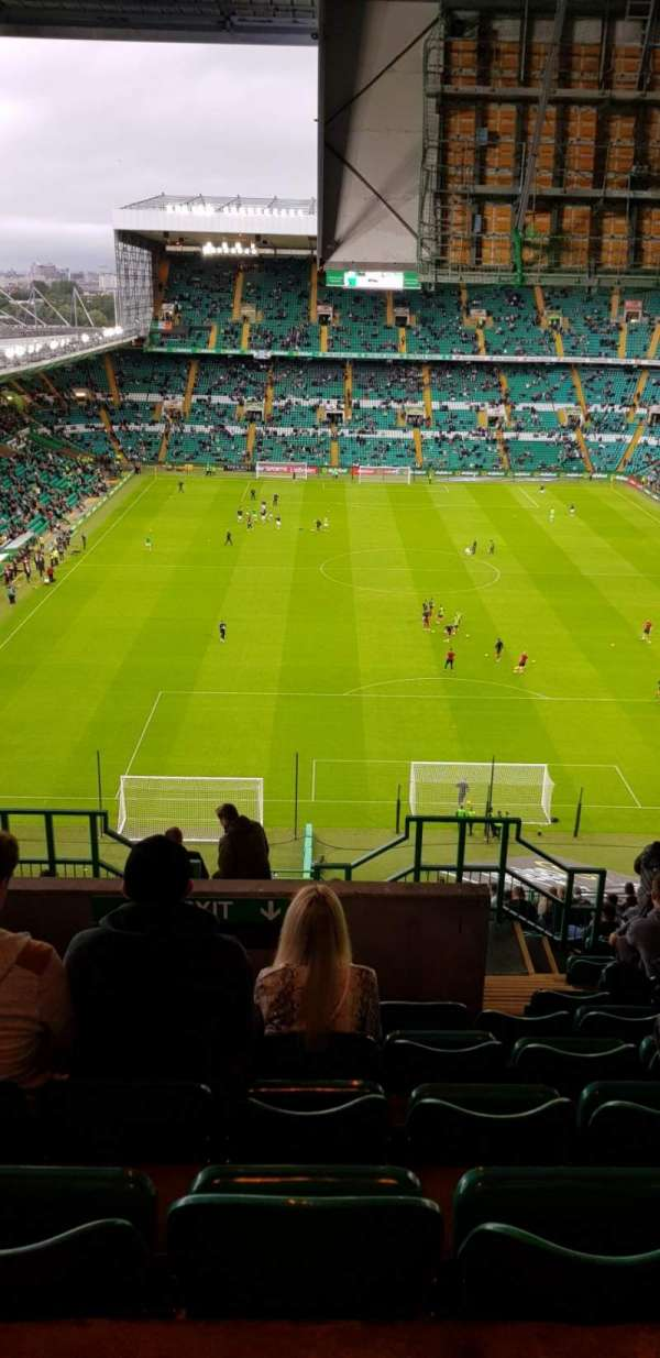 Celtic Park, section: 417, row: V, seat: 10