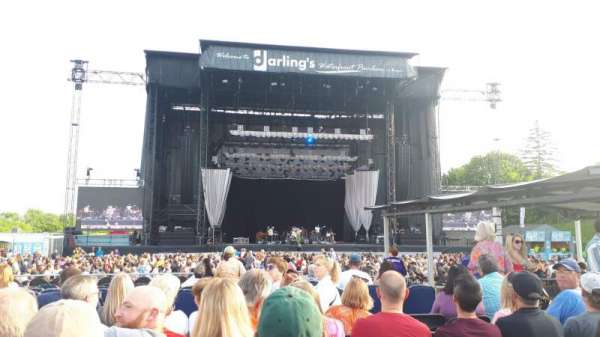 Darling's Waterfront Pavilion, section: 204, row: 7, seat: 7