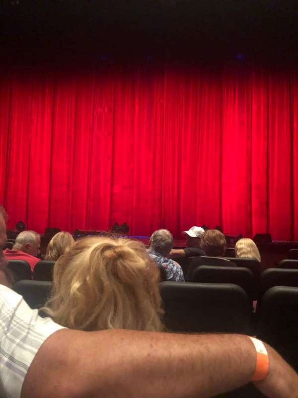Tropicana Showroom, section: Orch, row: H, seat: 114