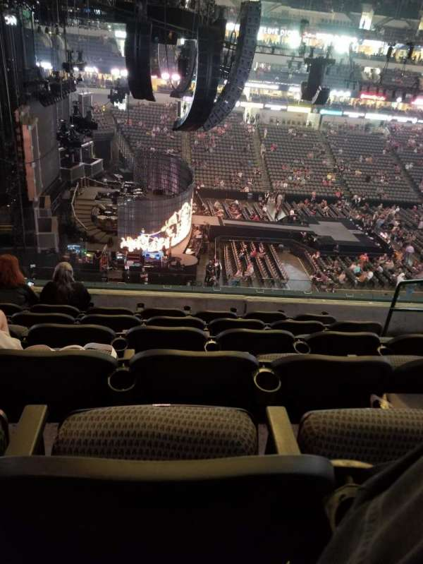 American Airlines Center, section: 219, row: F, seat: 4