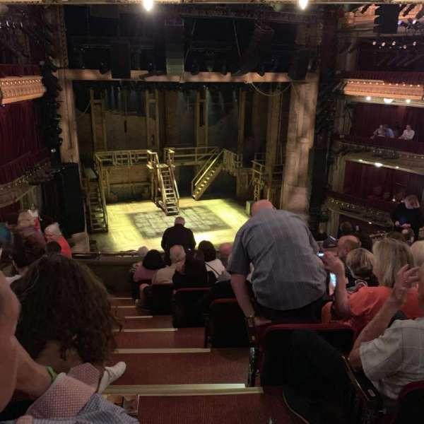 CIBC Theatre, section: Mezzanine L, row: J, seat: 1