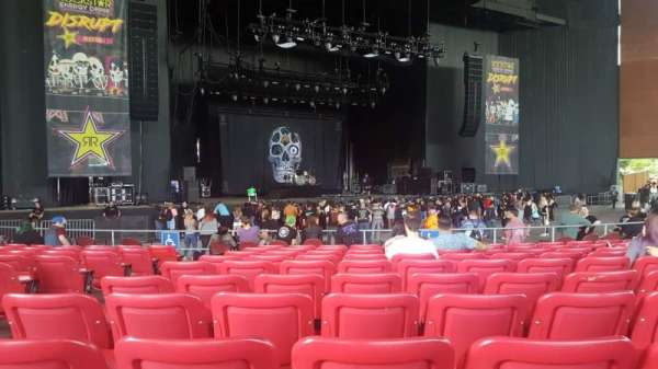 White River Amphitheatre, section: 104, row: 10, seat: 20