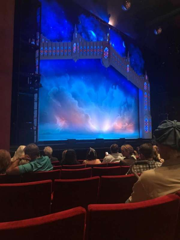 San Diego Civic Theatre, section: Orchestra L, row: E, seat: 49