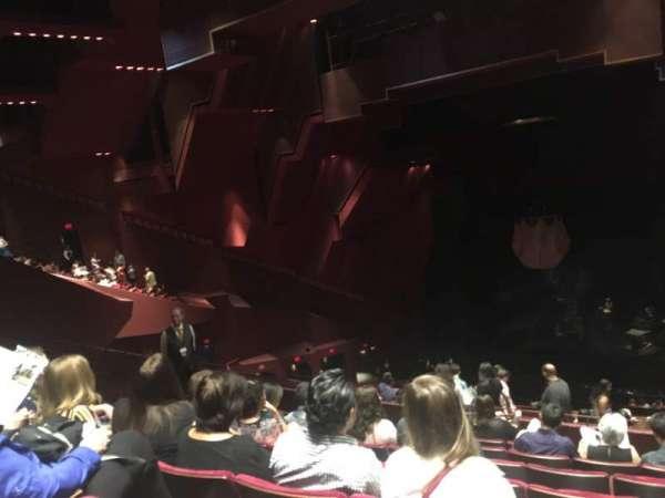 Segerstrom Hall, section: Loge, row: Q, seat: 120