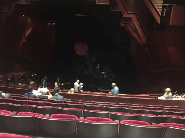 Segerstrom Hall, section: Loge, row: Q, seat: 116