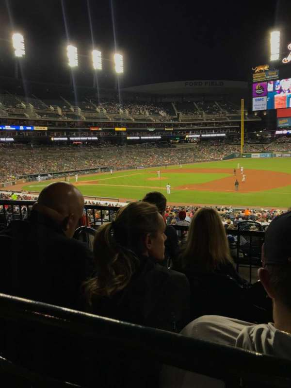 Comerica Park, section: 118, row: C, seat: 7