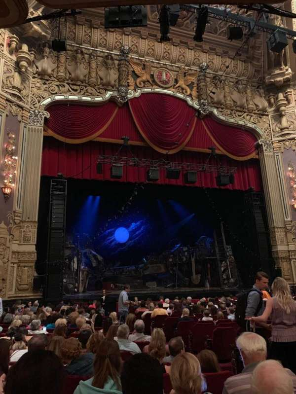 James M. Nederlander Theatre, section: Orchestra L, row: T, seat: 5