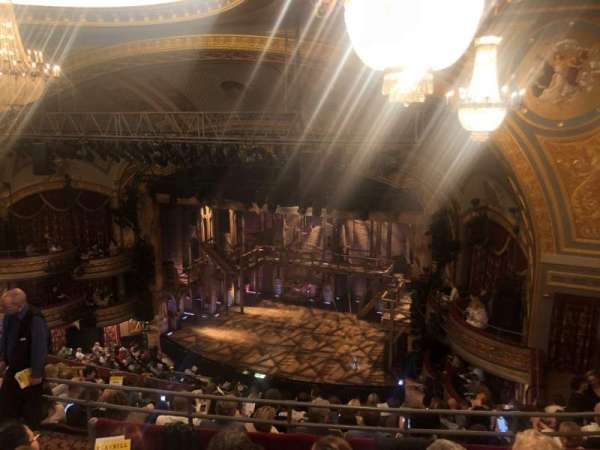 Richard Rodgers Theatre, section: Rear Mezzanine R, row: K, seat: 22-24