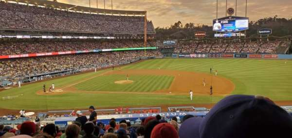 Dodger Stadium, section: 134LG, row: N, seat: 4