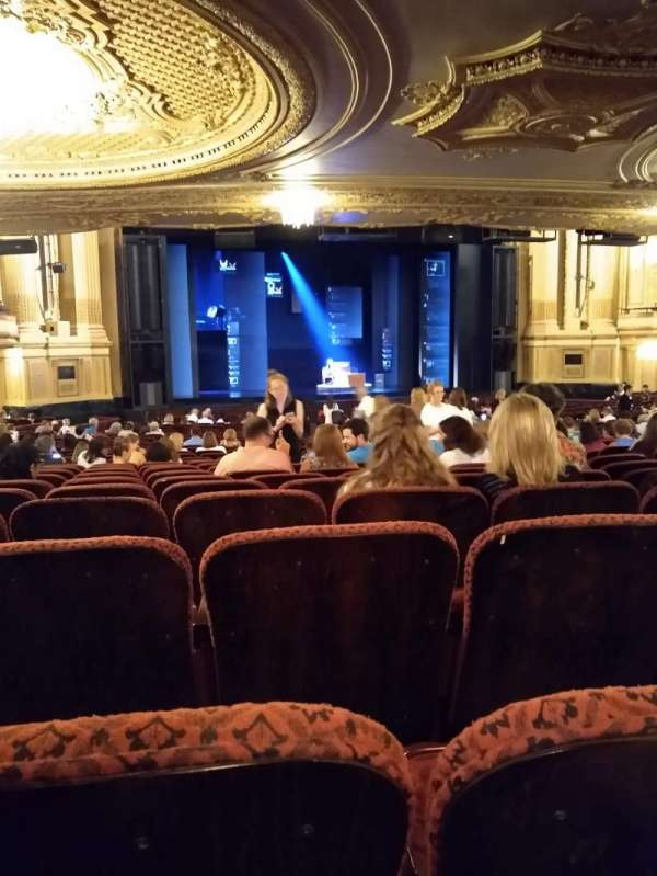 Citizens Bank Opera House, section: Orchestra LC, row: X, seat: 15