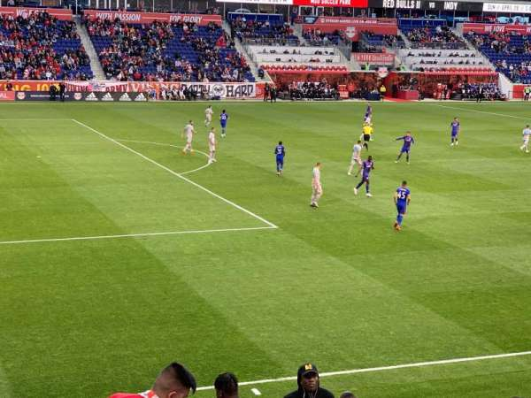 Red Bull Arena, section: 129, row: 14, seat: 9