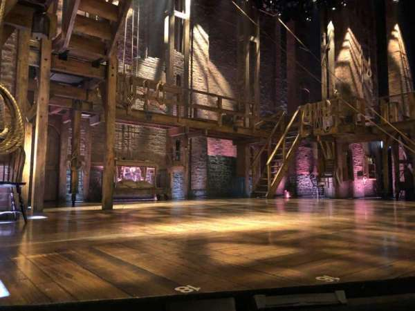 Richard Rodgers Theatre, section: Orch Left, row: A, seat: 9