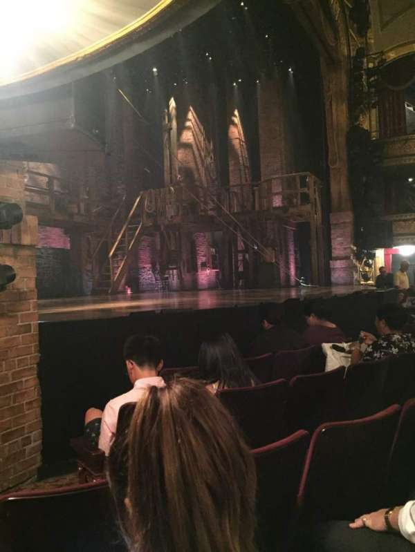Richard Rodgers Theatre, section: Orchestra L, row: D, seat: 17, 19, 21