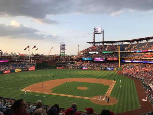 Citizens Bank Park, section: 225, row: 5, seat: 13