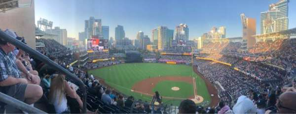 PETCO Park, section: 308, row: 19, seat: 16
