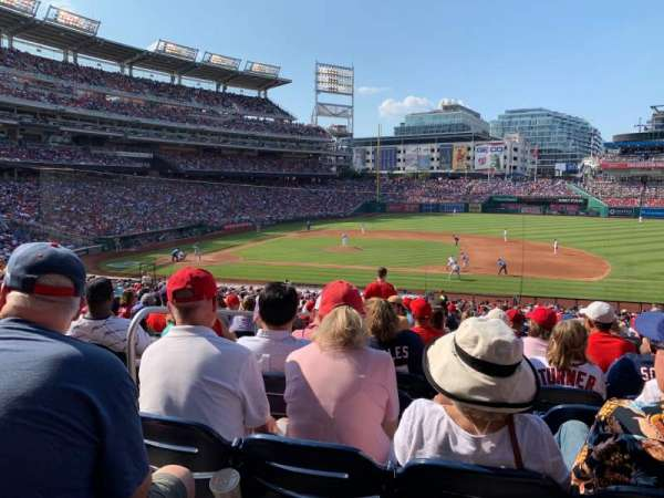 Nationals Park, section: 130, row: SS, seat: 15
