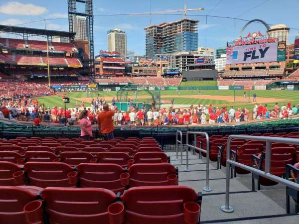 Busch Stadium , section: 149, row: 10, seat: 13