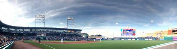 Dunkin' Donuts Park, section: 102, row: B, seat: 1