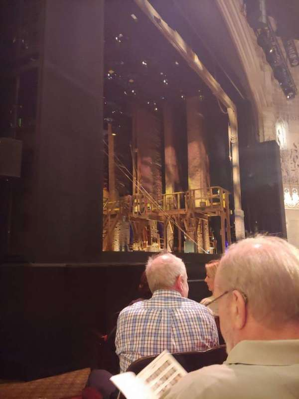 Orpheum Theatre (San Francisco), section: Orchestra L, row: F, seat: 17