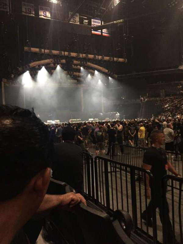 Barclays Center, section: 23, row: 2, seat: 5