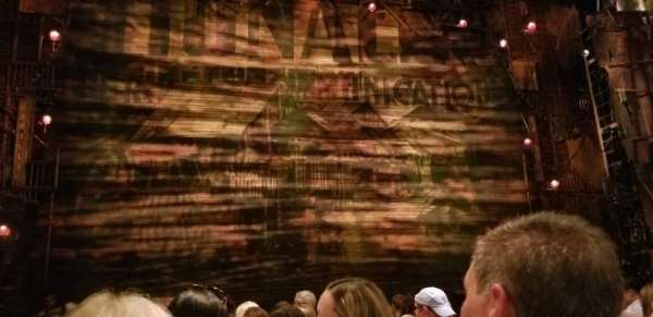 Hollywood Pantages Theatre, section: Orchestra C, row: H, seat: 113