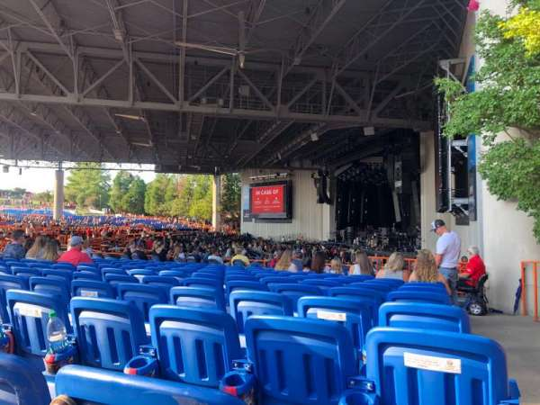 PNC Music Pavilion, section: 4, row: N, seat: 1