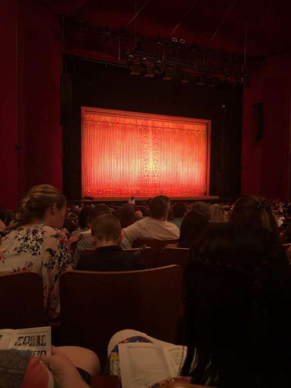 The Kennedy Center Opera House, section: Orchestra, row: AA, seat: 9