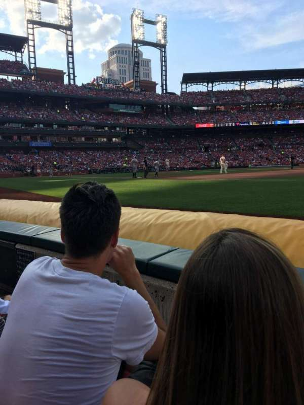 Busch Stadium, section: 139, row: B, seat: 5