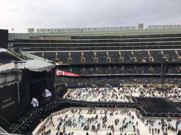 Soldier Field, section: 441, row: 3, seat: 8