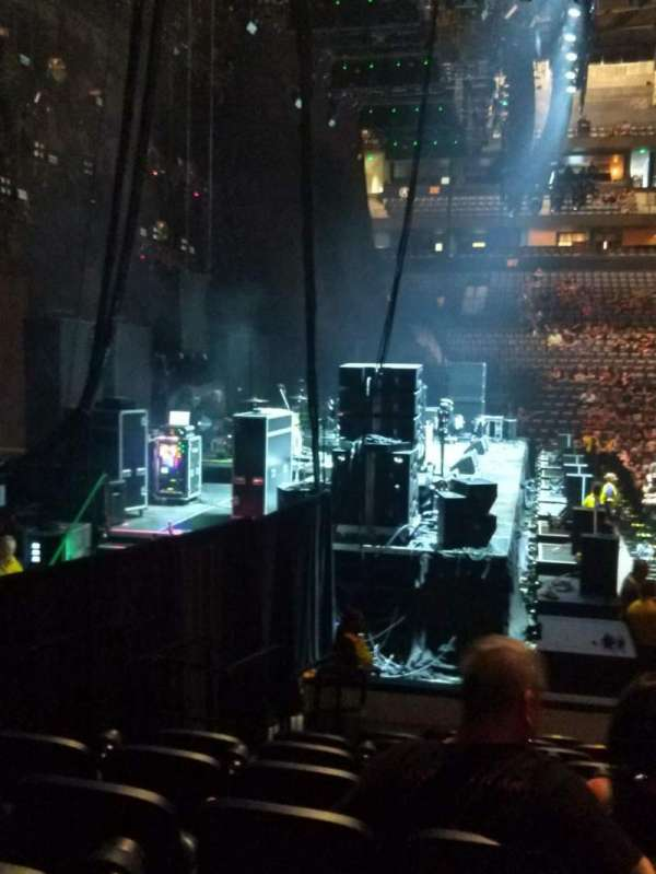 Bridgestone Arena, section: 114, row: KK, seat: 17