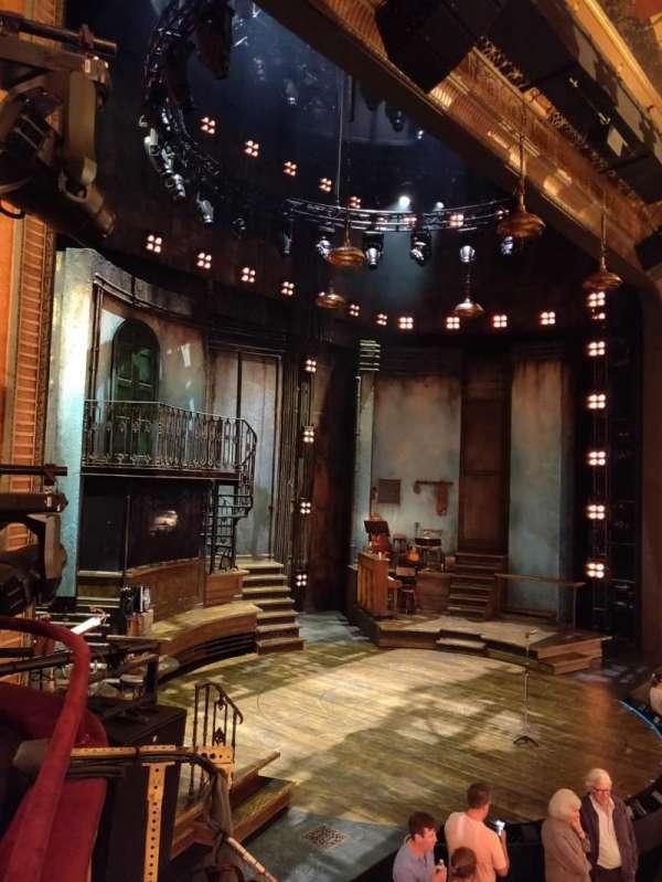 Walter Kerr Theatre, section: Box B, seat: 7