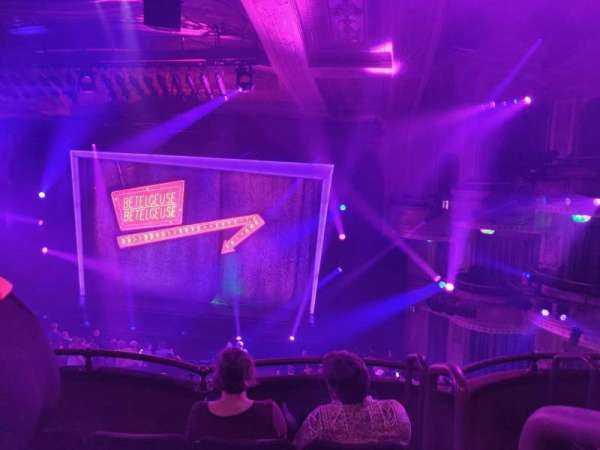 Winter Garden Theatre, section: Mezzanine RC, row: D, seat: 142
