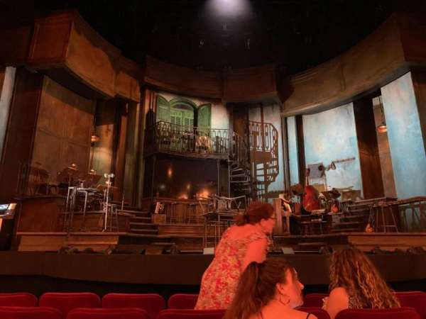 Walter Kerr Theatre, section: Orchestra C, row: G, seat: 110