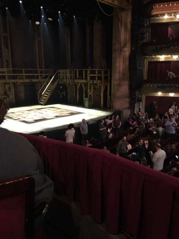 CIBC Theatre, section: Dress Circle Box 1, row: Box 1, seat: 211