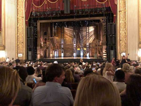 Orpheum Theatre (Memphis), section: ORCHESTRA, row: U, seat: 106