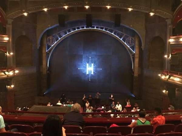 Lyric Theatre, section: Dress Circle, row: F, seat: 117