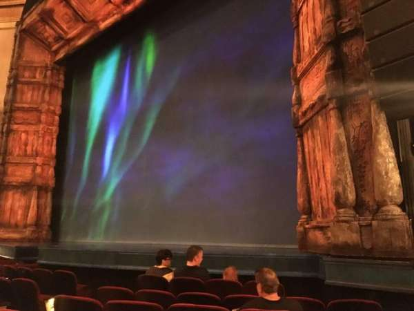 St. James Theatre, section: Orchestra R, row: F, seat: 16