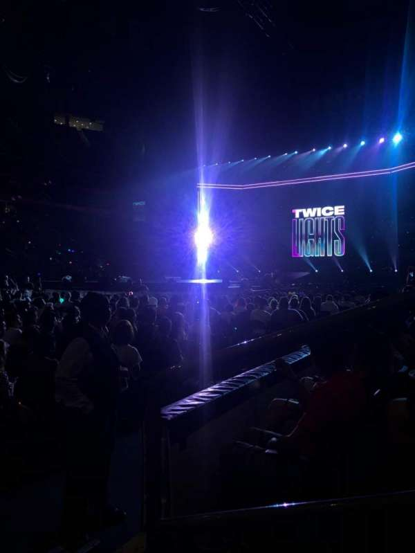 Prudential Center, section: 6, row: 1, seat: 1