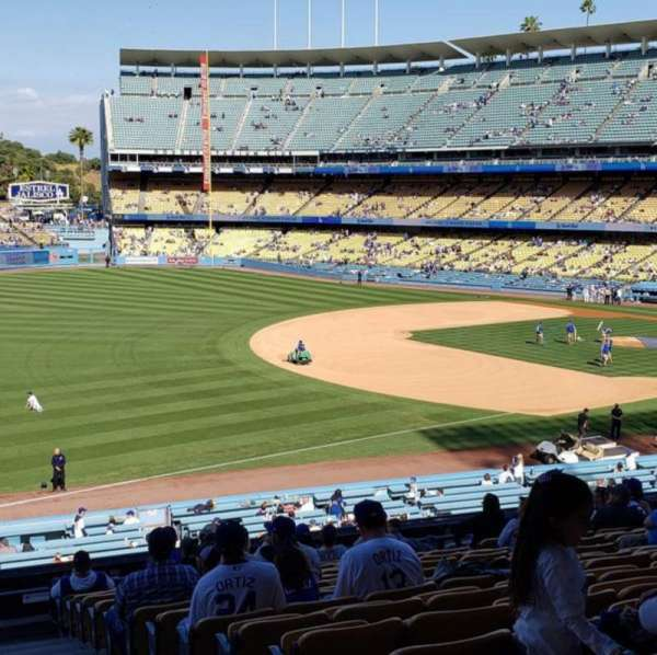 Dodger Stadium, section: 153LG, row: P, seat: 11