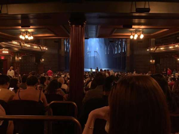 Lyric Theatre, section: Orchestra L, row: Y, seat: 3