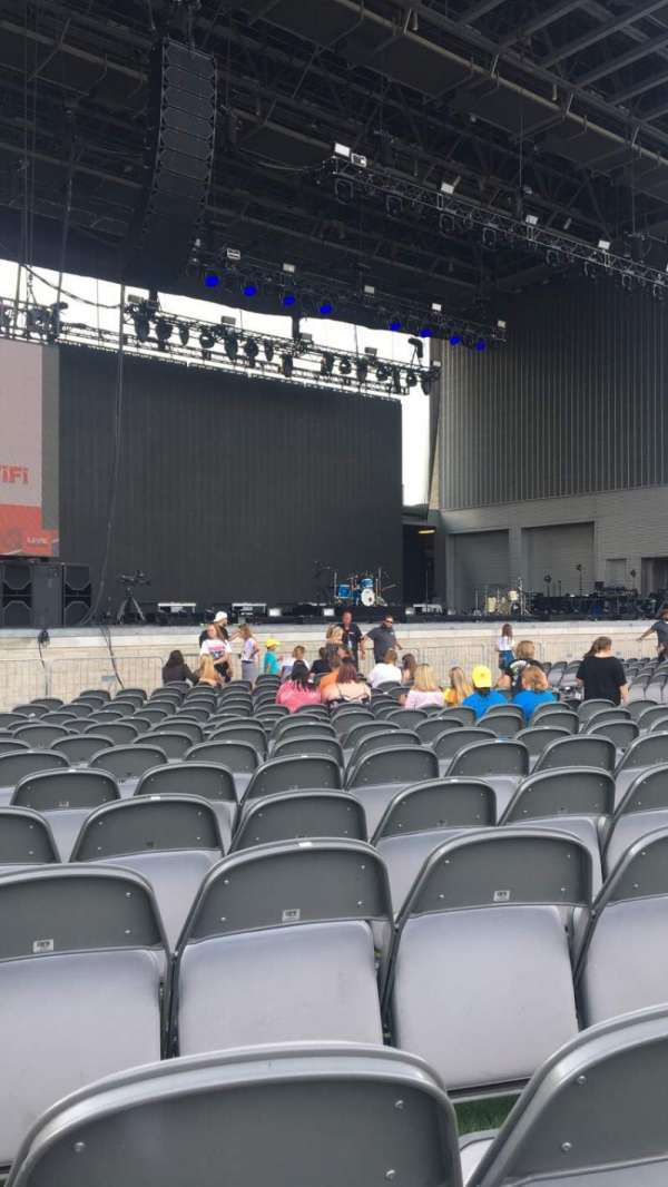 Ascend Amphitheater, section: 103, row: H, seat: 19