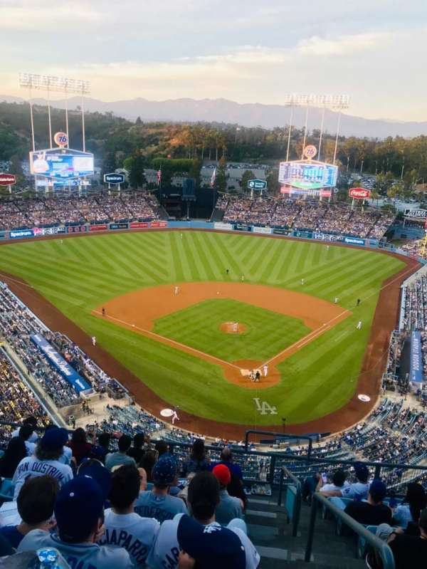 Dodger Stadium, section: 5TD, row: J, seat: 1