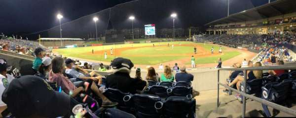 Coolray Field, section: 106, row: L, seat: 1