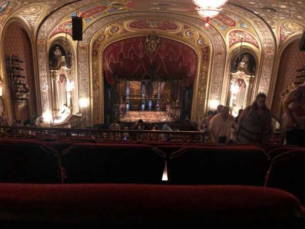 Providence Performing Arts Center, section: SDC, row: R, seat: 109